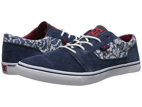 DC - Tonik SE (Dark Denim/White) Women's Skate Shoes