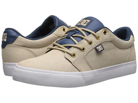 DC - Anvil TX SE (Light Brown) Women's Skate Shoes