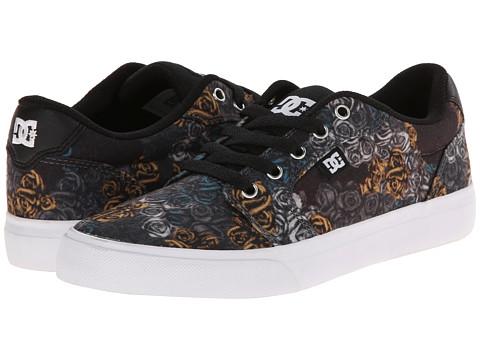 DC - Anvil SP (Black Print) Women's Skate Shoes