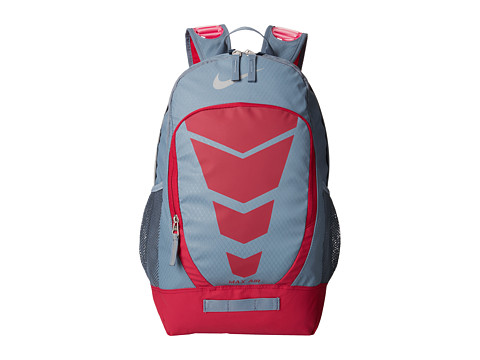 Nike - Max Air Vapor Backpack (Blue Graphite/Dark Fireberry/Metallic Silver) Backpack Bags