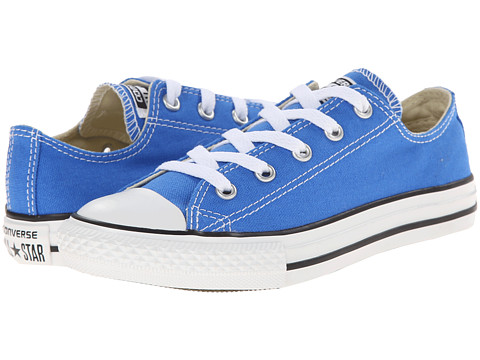 Converse Kids - Chuck Taylor All Star Ox (Little Kid) (Light Sapphire) Kids Shoes