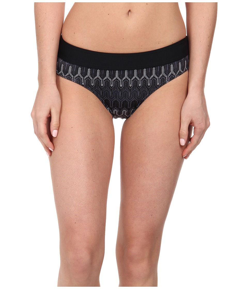 Prana - Ramba Bottom (Black Ibiza) Women's Swimwear