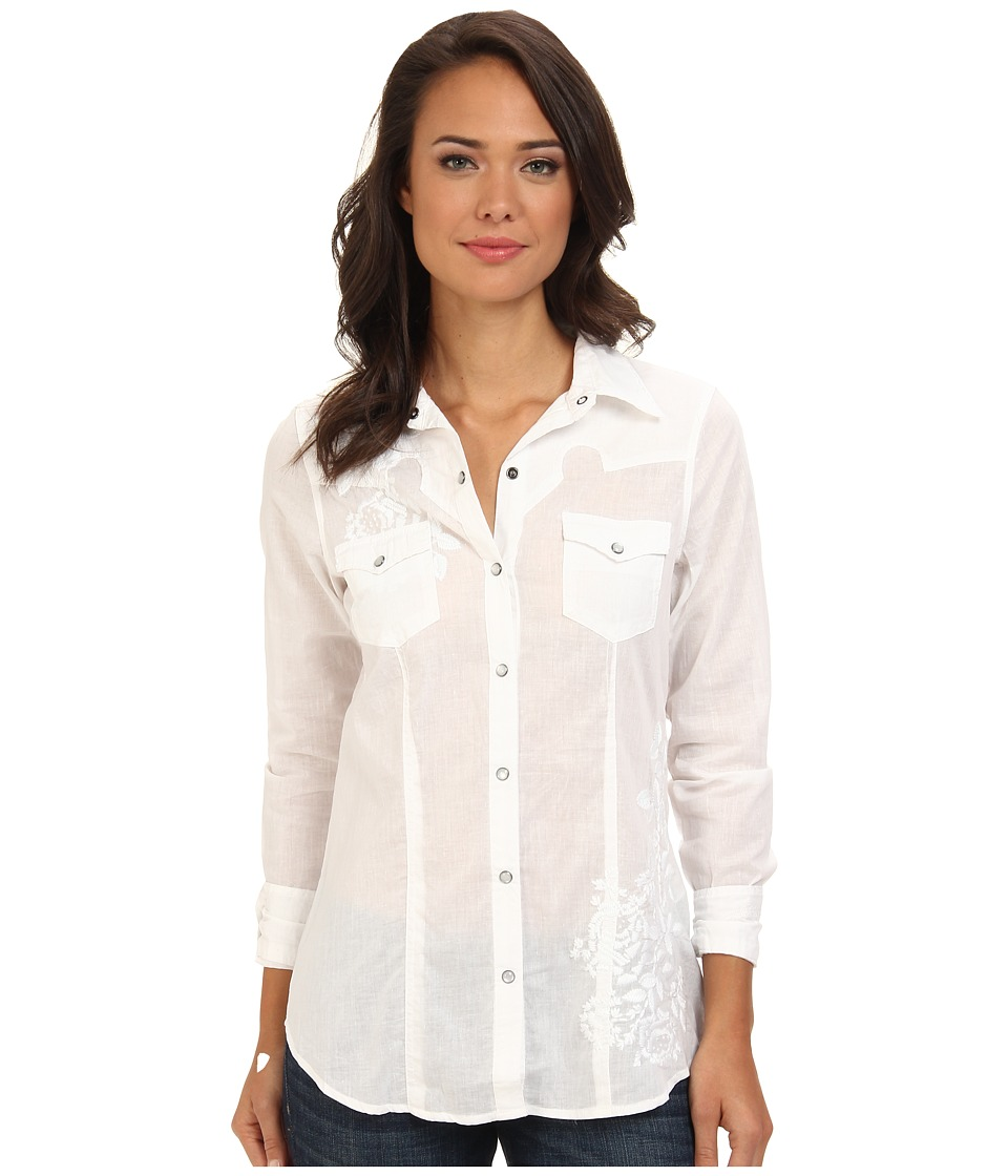Stetson - 9134 Lawn Blouse (White) Women