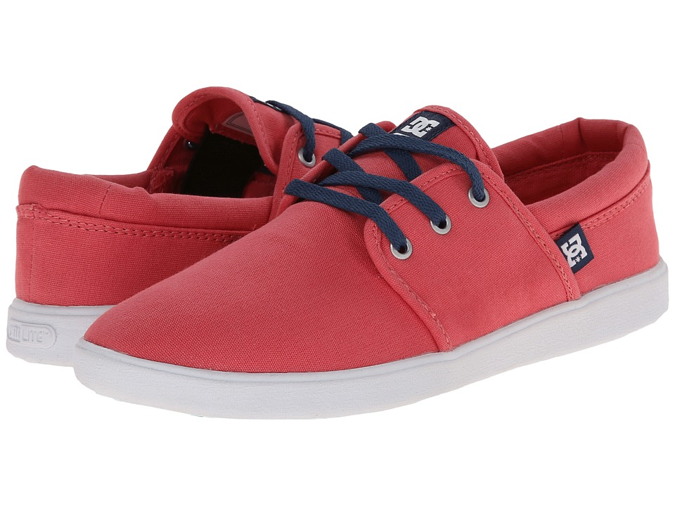 DC - Haven (Coral) Women's Skate Shoes
