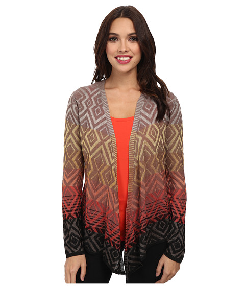NIC+ZOE - Coral Pop 4-Way Cardy (Multi) Women's Sweater