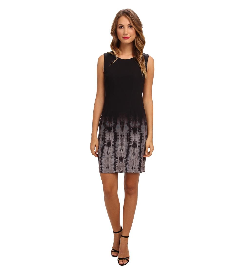 Elie Tahari - Emory Dress (Black Multi) Women