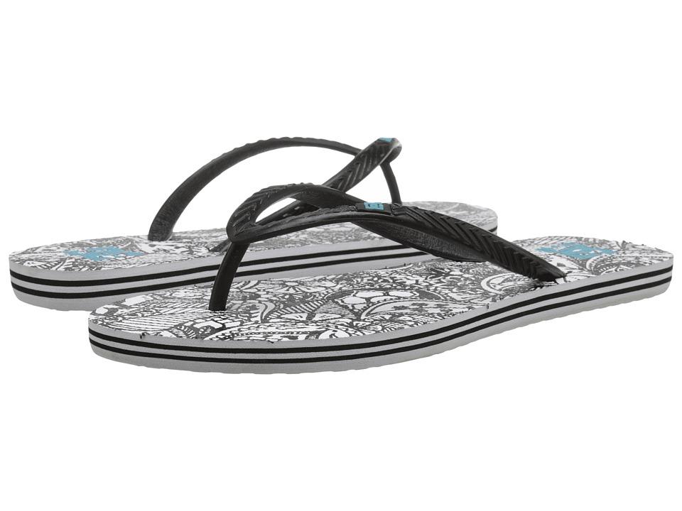DC - Spray Graffik W (Black/White) Women's Skate Shoes