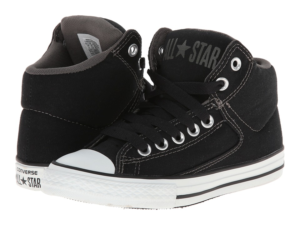 Converse Kids Chuck Taylor(r) All Star(r) High Street Hi (Little Kid/Big Kid) (Black) Boys Shoes