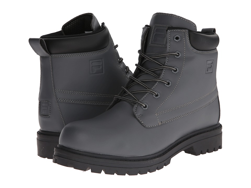 Fila - Edgewater 12 (Castlerock/Black) Men's Lace-up Boots