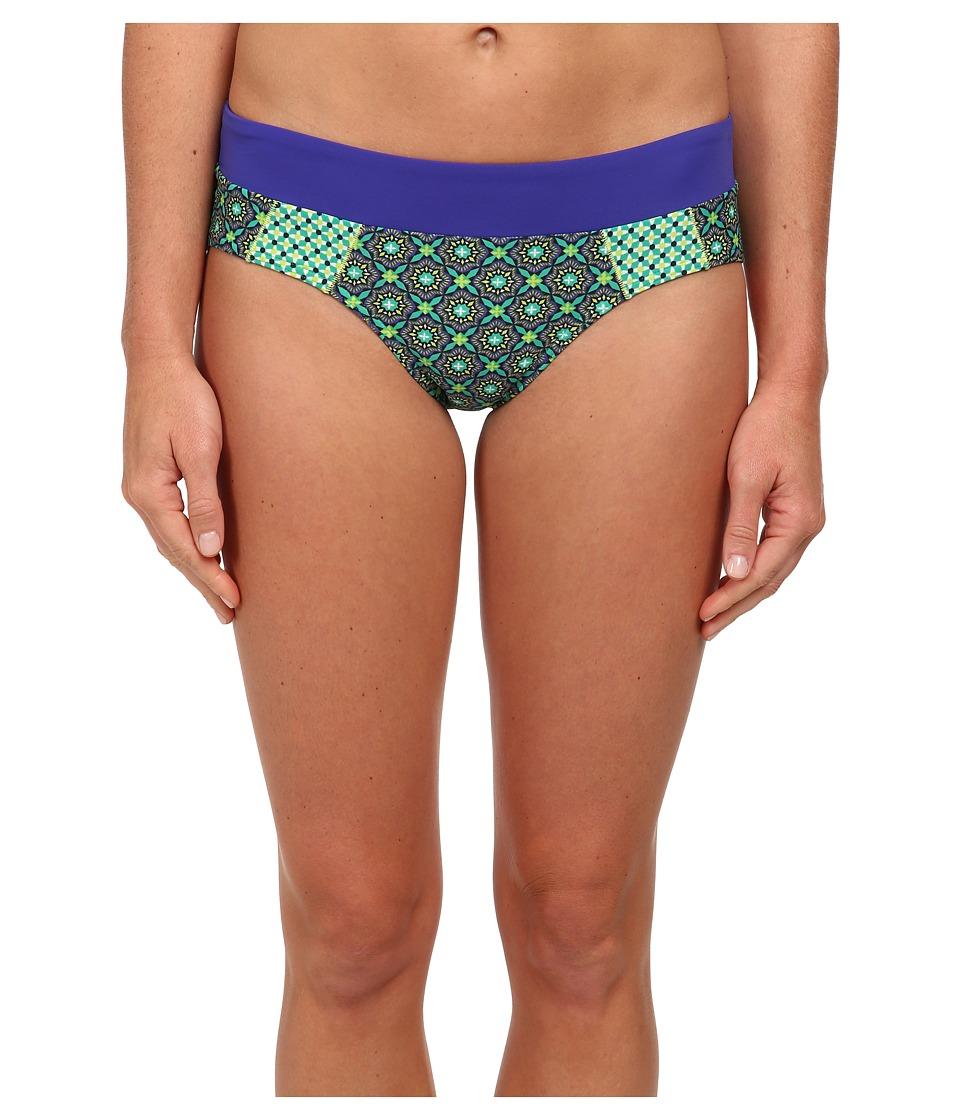 Prana - Zuri Bottom (Cool Green Hyannis) Women's Swimwear