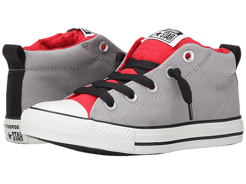 Converse Kids - Chuck Taylor All Star Street Mid (Little Kid/Big Kid) (Dolphin/Casino) Boys Shoes