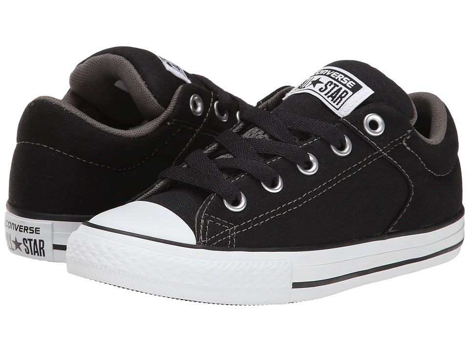 Converse Kids - Chuck Taylor(r) All Star(r) High Street Slip (Little Kid/Big Kid) (Black) Boys Shoes