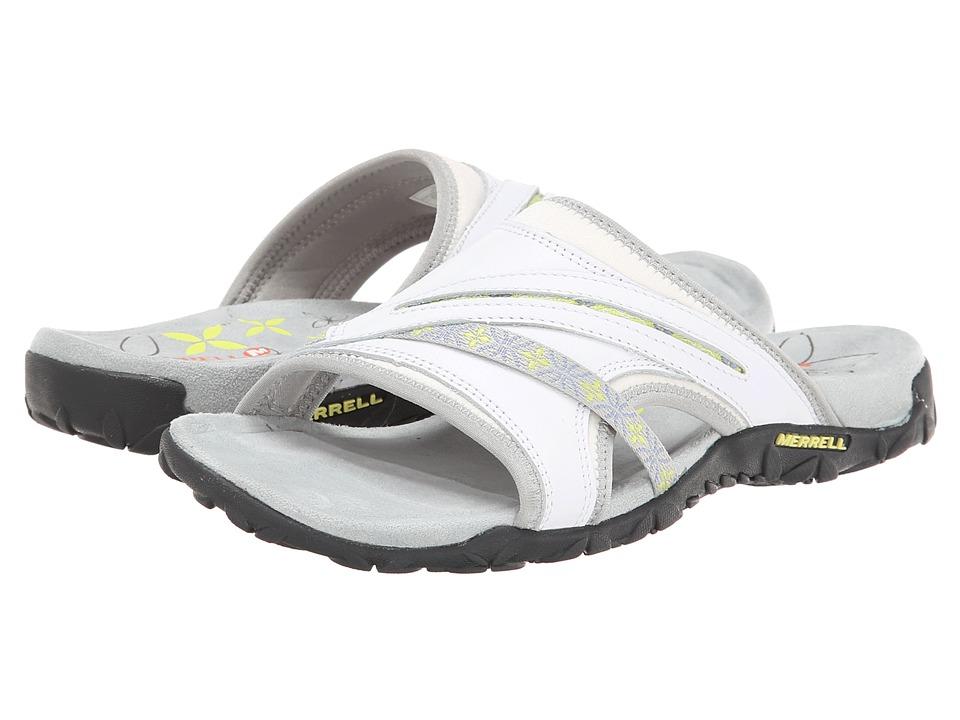 Merrell - Terran Slide (White) Women's Sandals