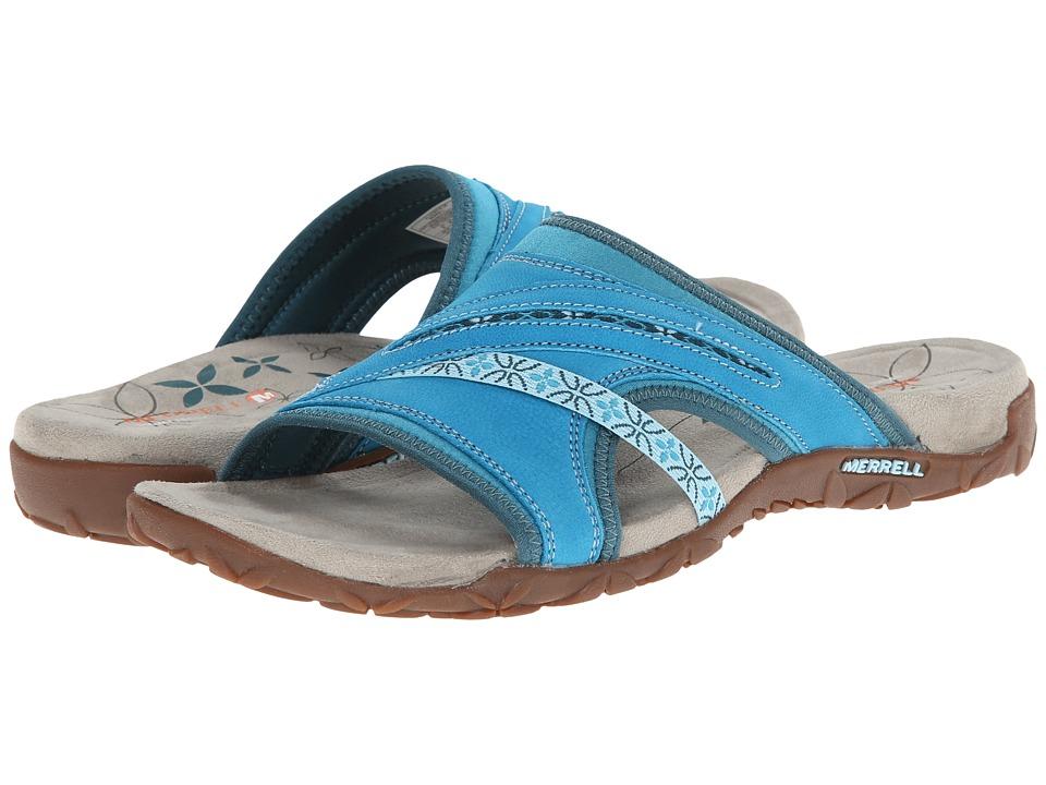 Merrell - Terran Slide (Algiers Blue) Women's Sandals