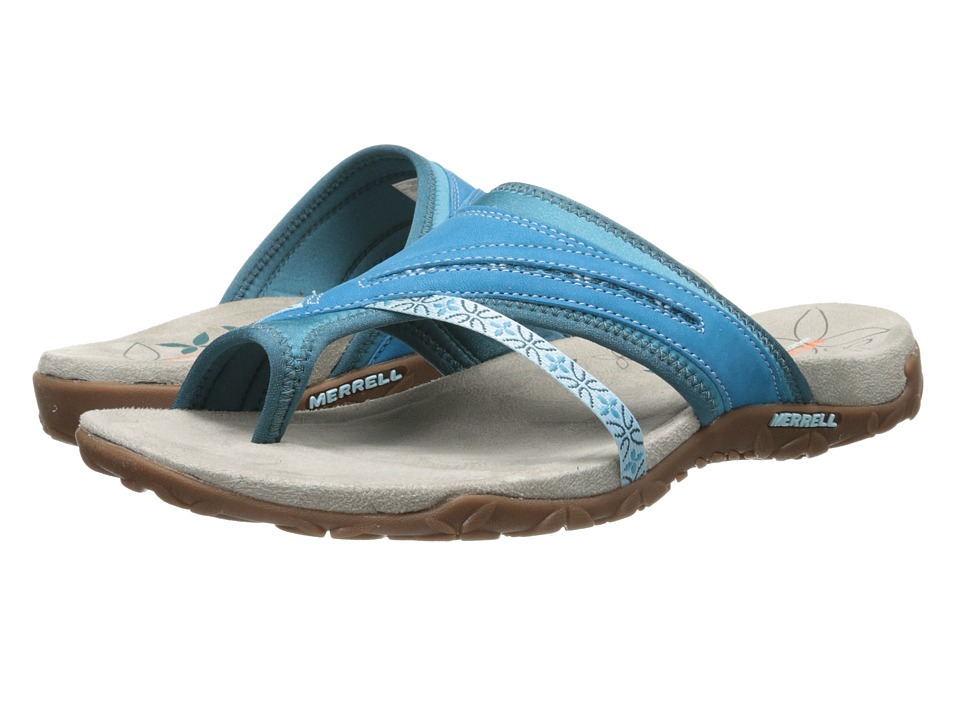 Merrell - Terran Post (Algiers Blue) Women's Sandals