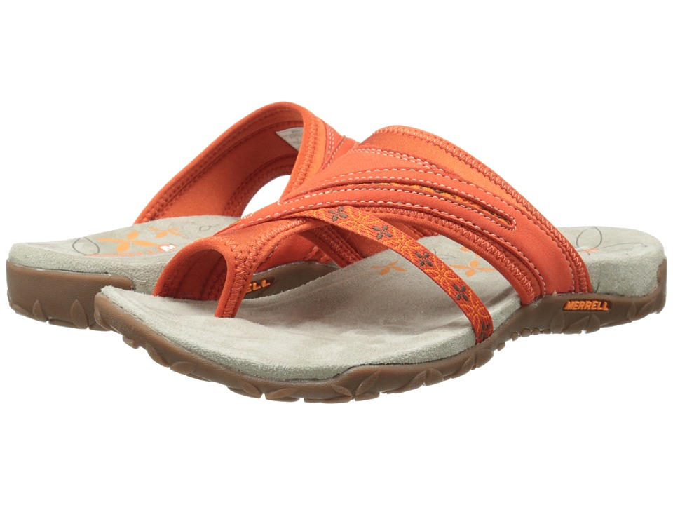 Merrell - Terran Post (Red Clay) Women's Sandals