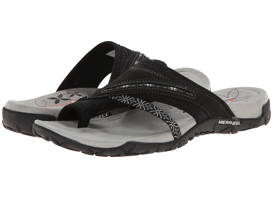 Merrell - Terran Post (Black) Women's Sandals
