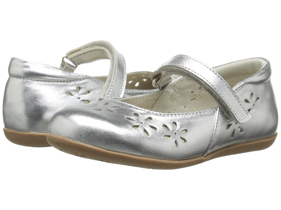 See Kai Run Kids - Ginger (Toddler/Little Kid) (Silver) Girls Shoes