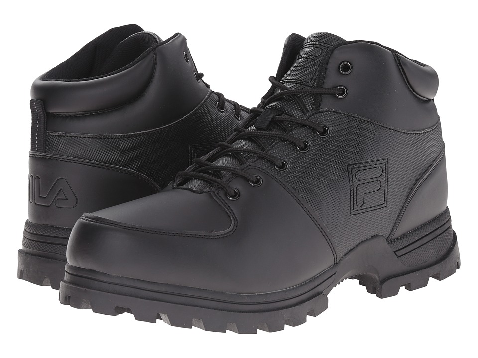 Fila - Ascender 2 (Black/Black/Dark Silver) Men