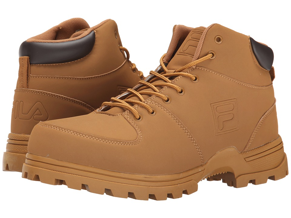 Fila - Ascender 2 (Wheat/Espresso) Men's Lace-up Boots