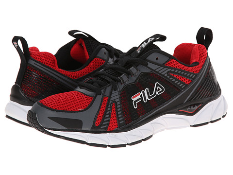 Fila - Threshold (Fila Red/Castlerock/Black) Men's Running Shoes