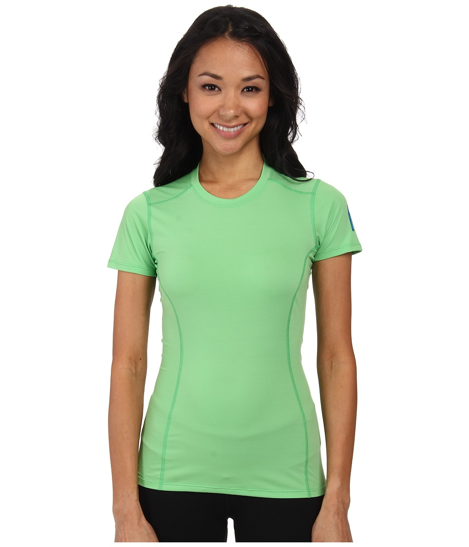 Arc'teryx - Phase SL Crew S/S (Green Orchid) Women's Short Sleeve Pullover