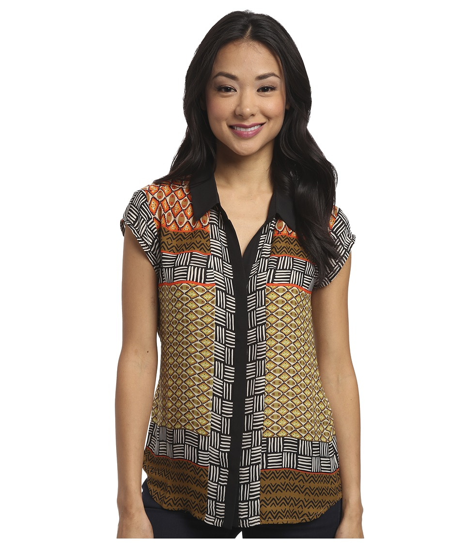 NIC+ZOE - Basket Weave Top (Multi) Women's Sleeveless