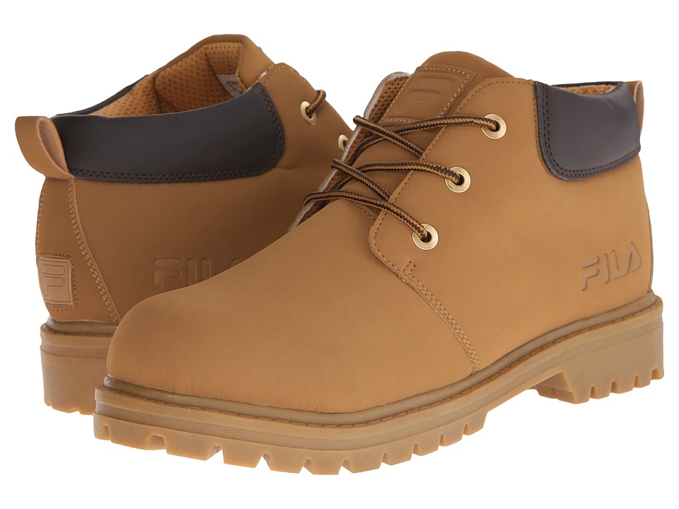 Fila - Watersedge (Wheat/Espresso/Gum) Men's Lace-up Boots