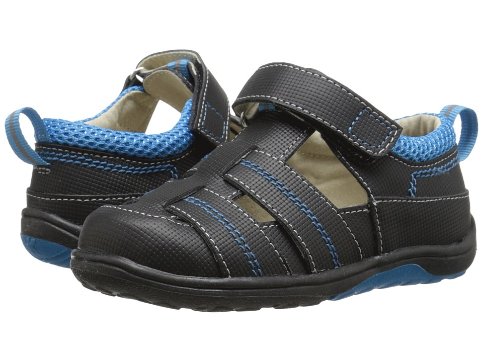 See Kai Run Kids - Christopher II (Toddler/Little Kid) (Black) Boys Shoes