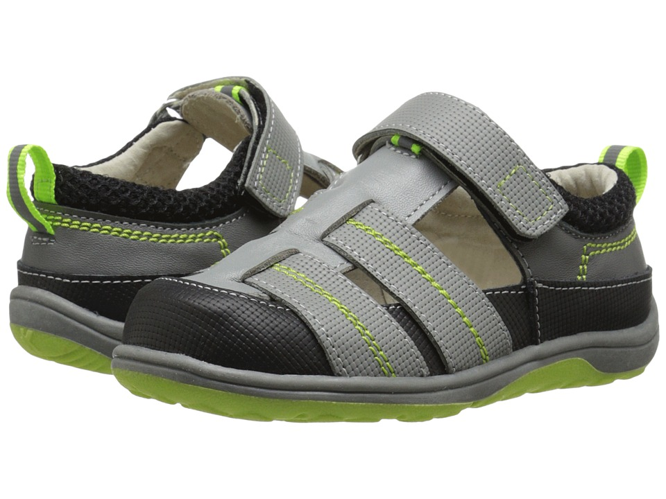 See Kai Run Kids - Christopher II (Toddler/Little Kid) (Gray) Boys Shoes