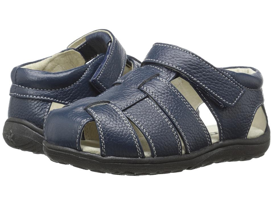 See Kai Run Kids Dillon II (Toddler/Little Kid) (Navy) Boys Shoes