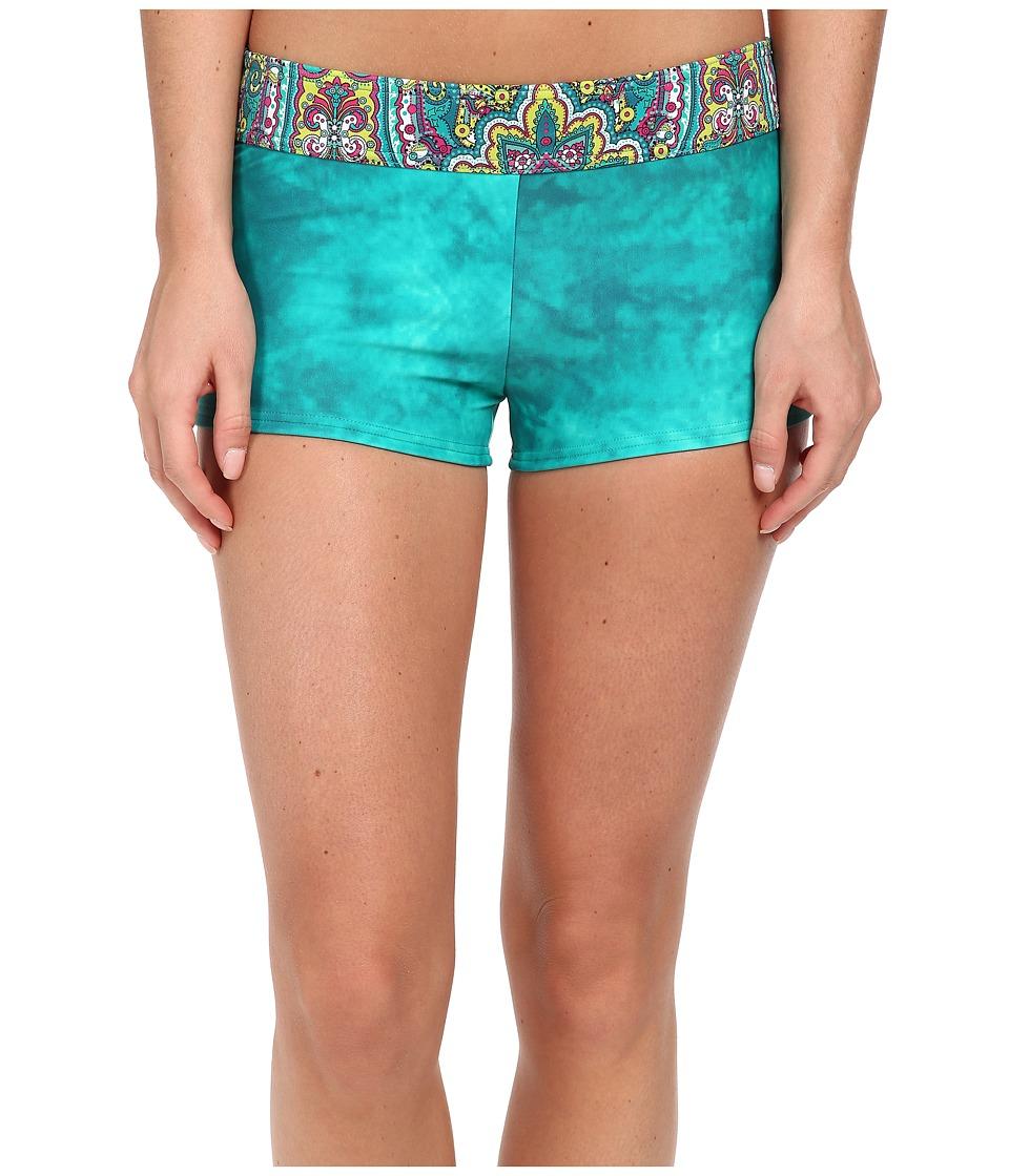 Prana - Raya Bottom (Sea Green Namaste) Women's Swimwear