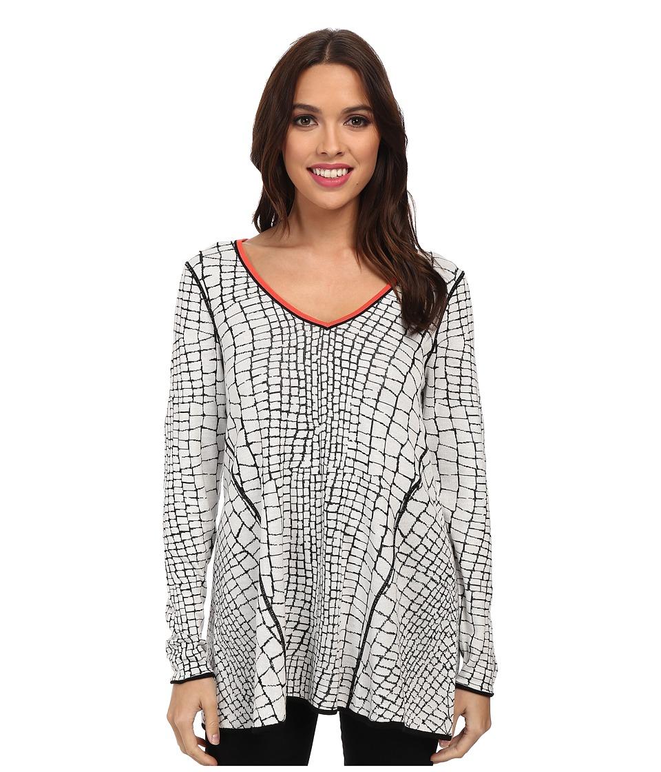 NIC+ZOE - Reversible Crackle Top (Multi) Women's Long Sleeve Pullover