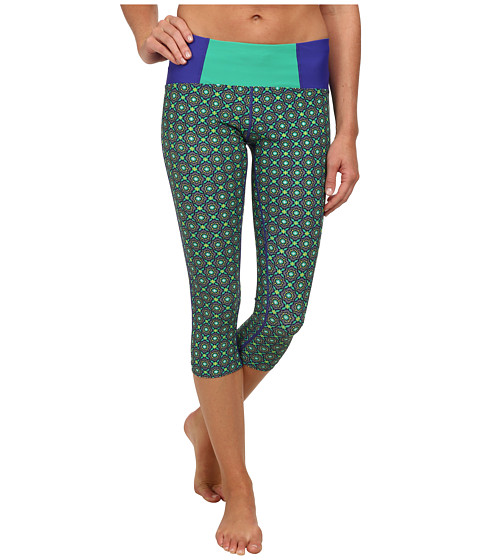 Prana - Rai Swim Tight (Cool Green Hyannis) Women's Swimwear