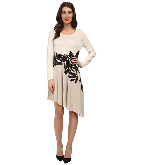 NIC+ZOE - Different Strokes Tissue Tee Dress (Multi) Women