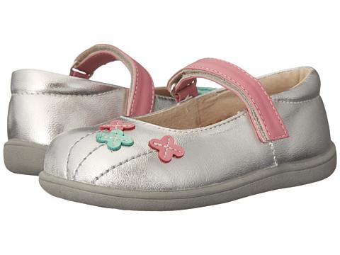 See Kai Run Kids - Elsa (Toddler) (Silver) Girls Shoes