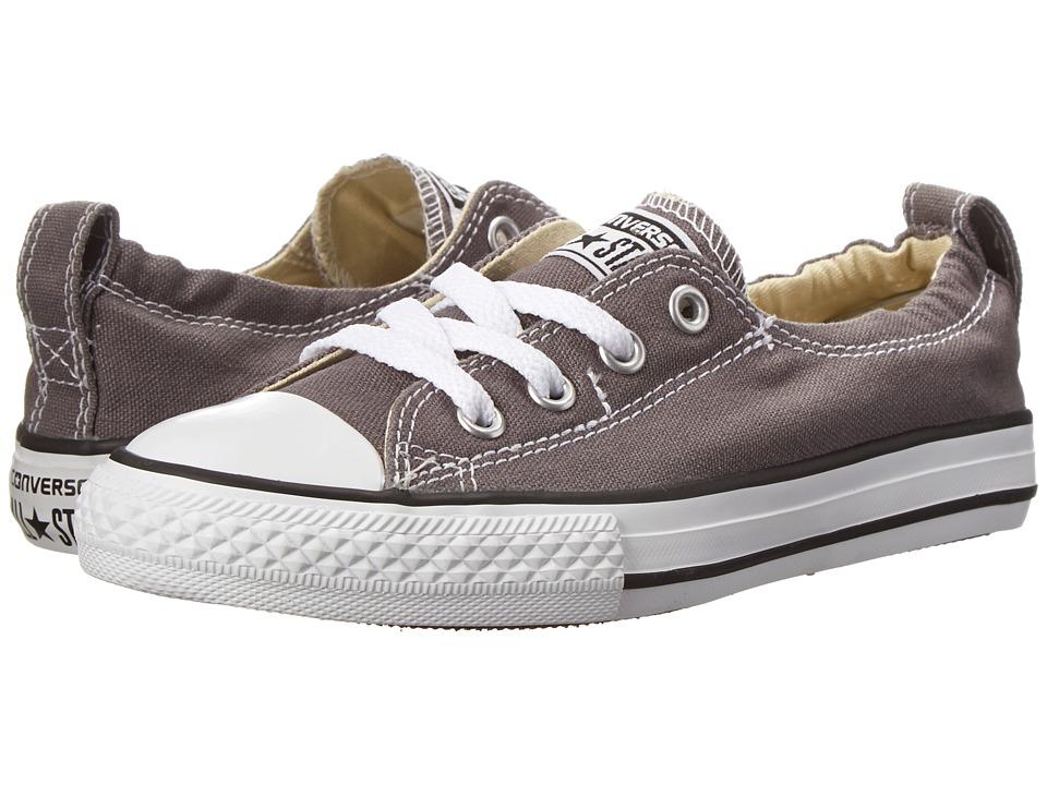 Converse Kids Chuck Taylor(r) All Star(r) Shoreline Slip (Little Kid/Big Kid) (Charcoal) Girls Shoes