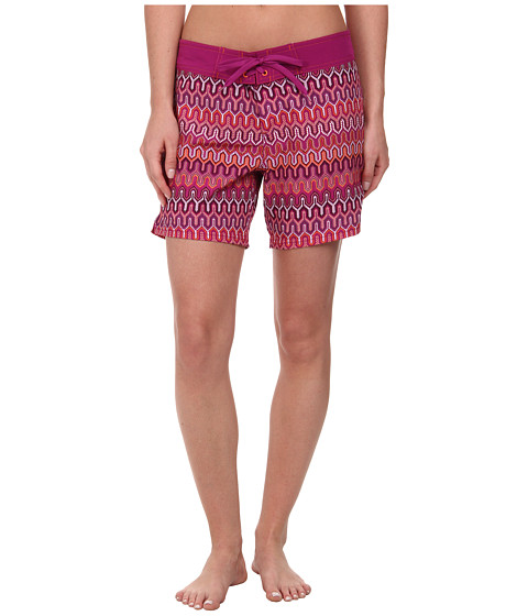 Prana - Makenna Boardshort (Fuchsia Ibiza) Women's Swimwear