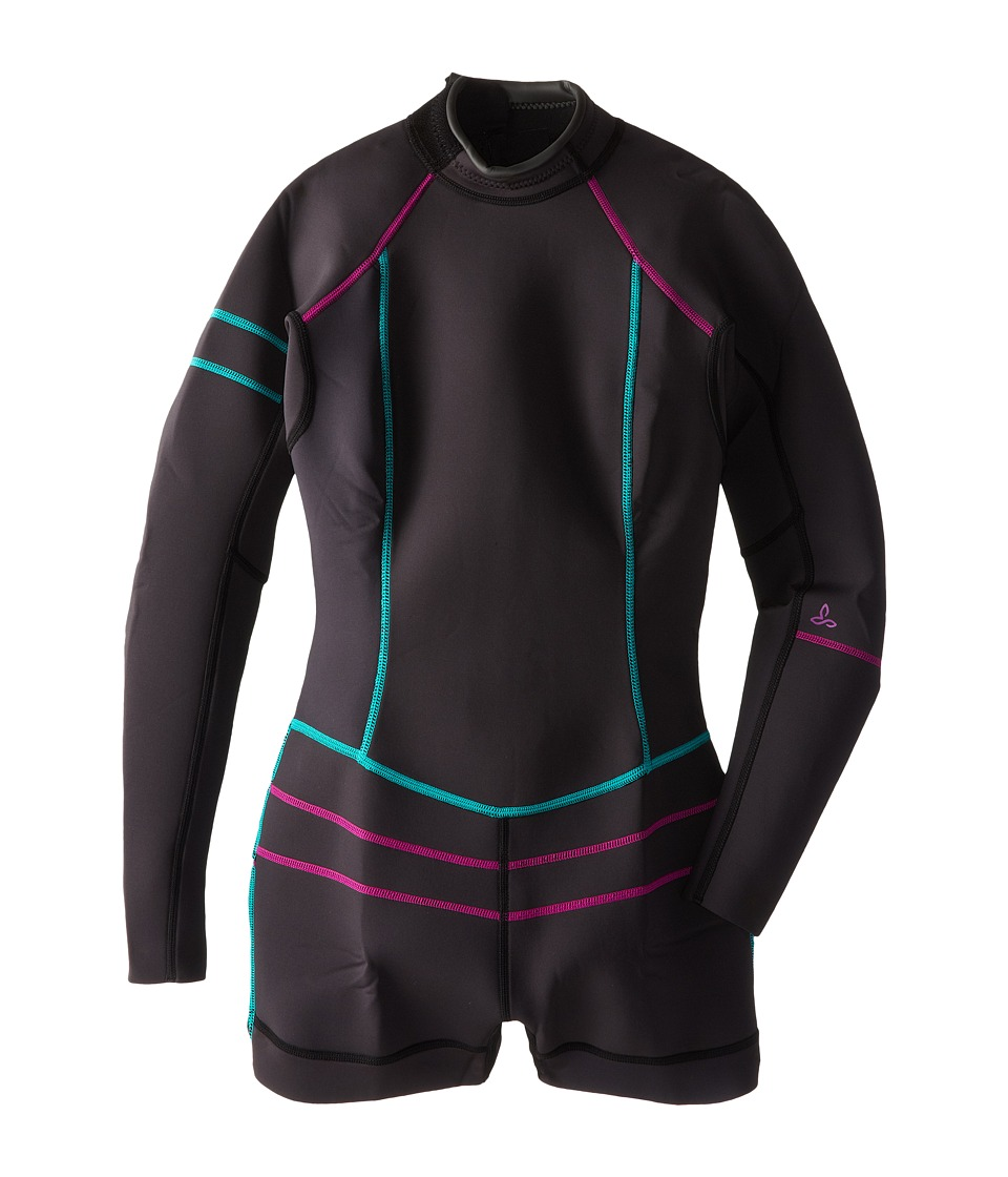 Prana - Azura Shortie (Black) Women's Wetsuits One Piece
