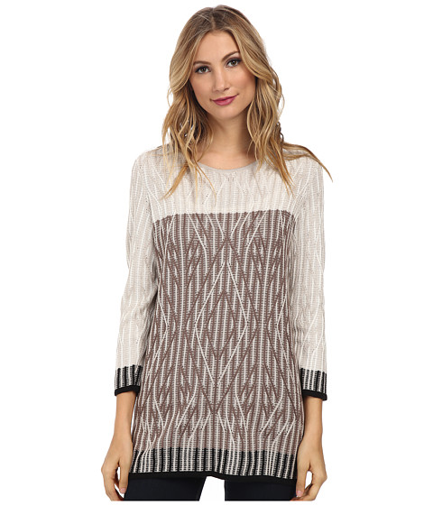 NIC+ZOE - Nirvana Top (Multi) Women