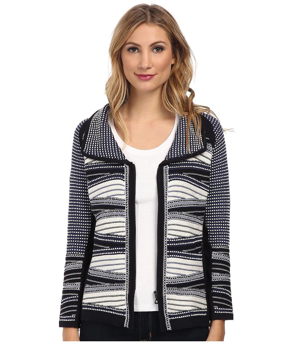 NIC+ZOE - Winding Weave Jacket (Multi) Women