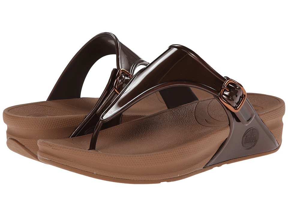FitFlop - Super Jelly (Bronze) Women's Sandals