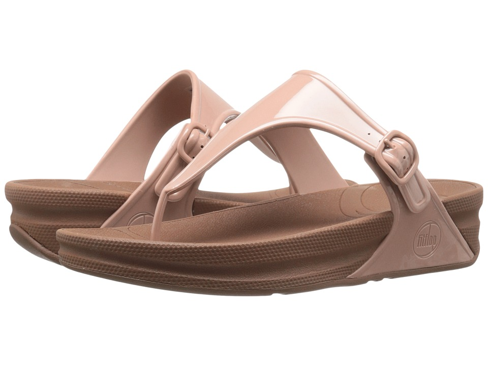 FitFlop - Super Jelly (Nude) Women's Sandals