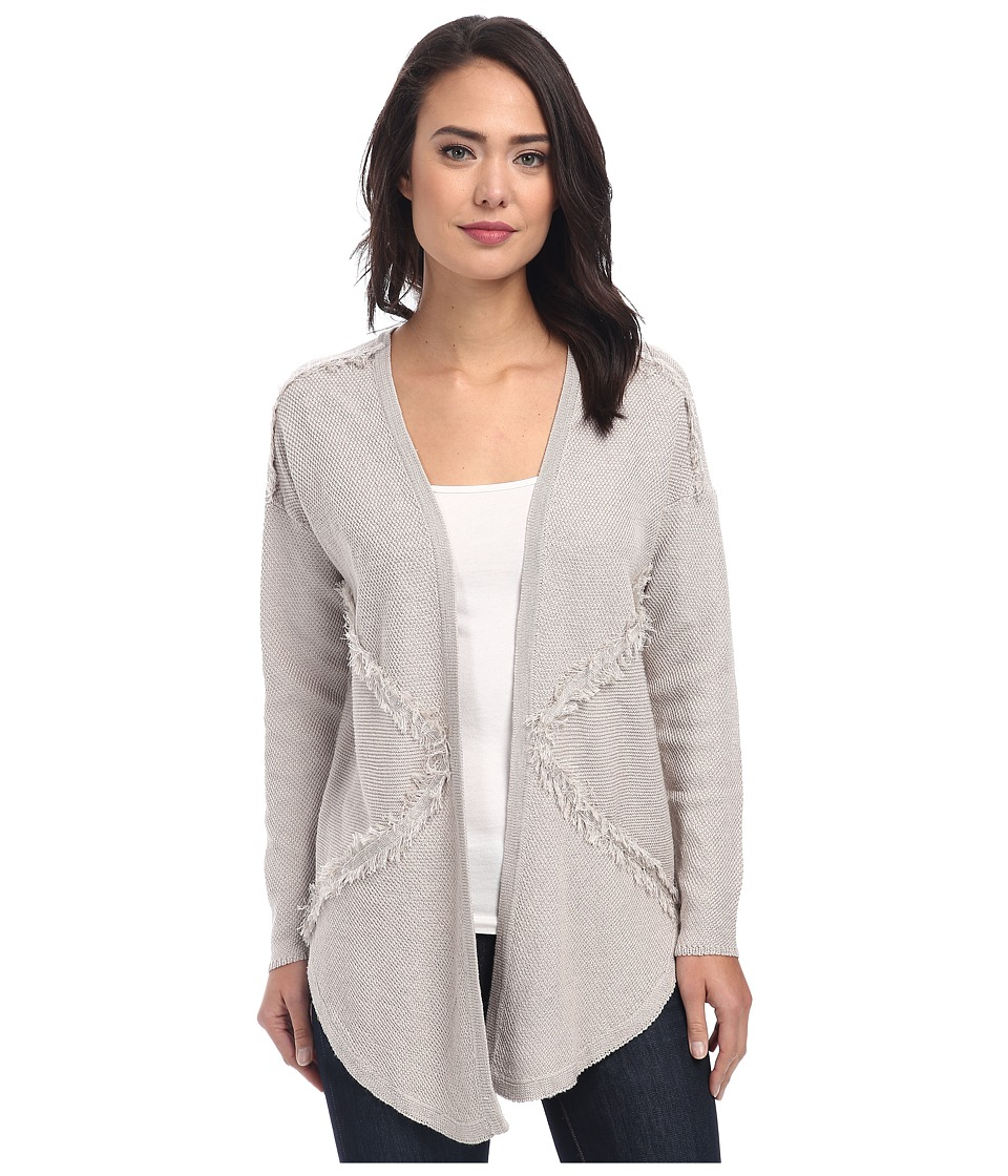 NIC+ZOE - Tranquility Cardy (Silver Cloud) Women's Sweater