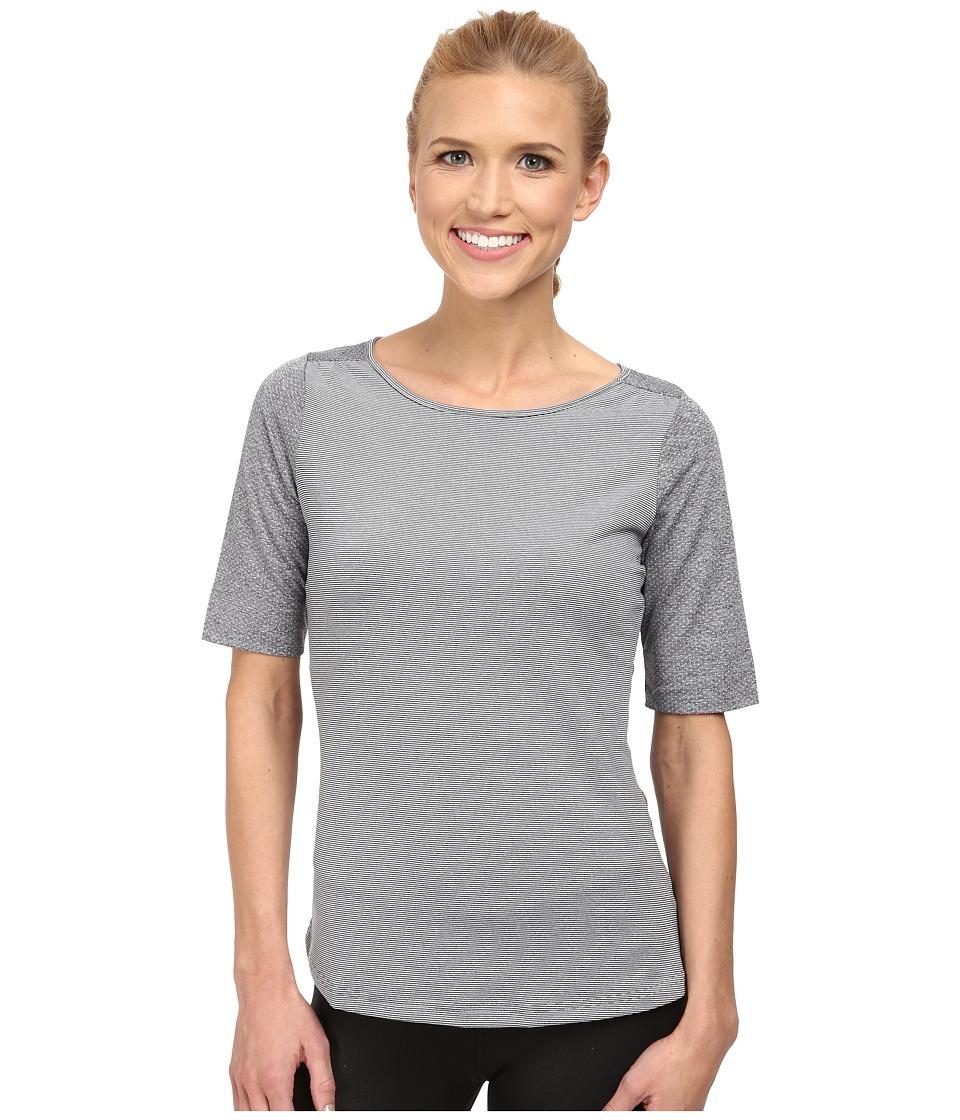 Prana - Kaylin Top (Coal) Women's Long Sleeve Pullover