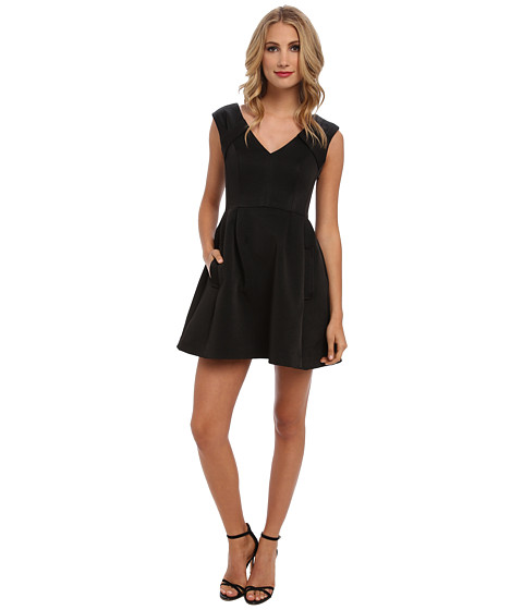 Nanette Lepore - Festival Dress (Black) Women's Dress