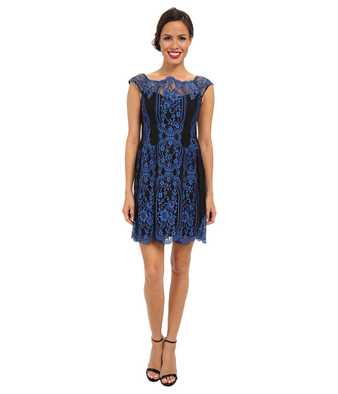 Nanette Lepore - Burlesque Dress (Cobalt/Cobalt/Academy) Women