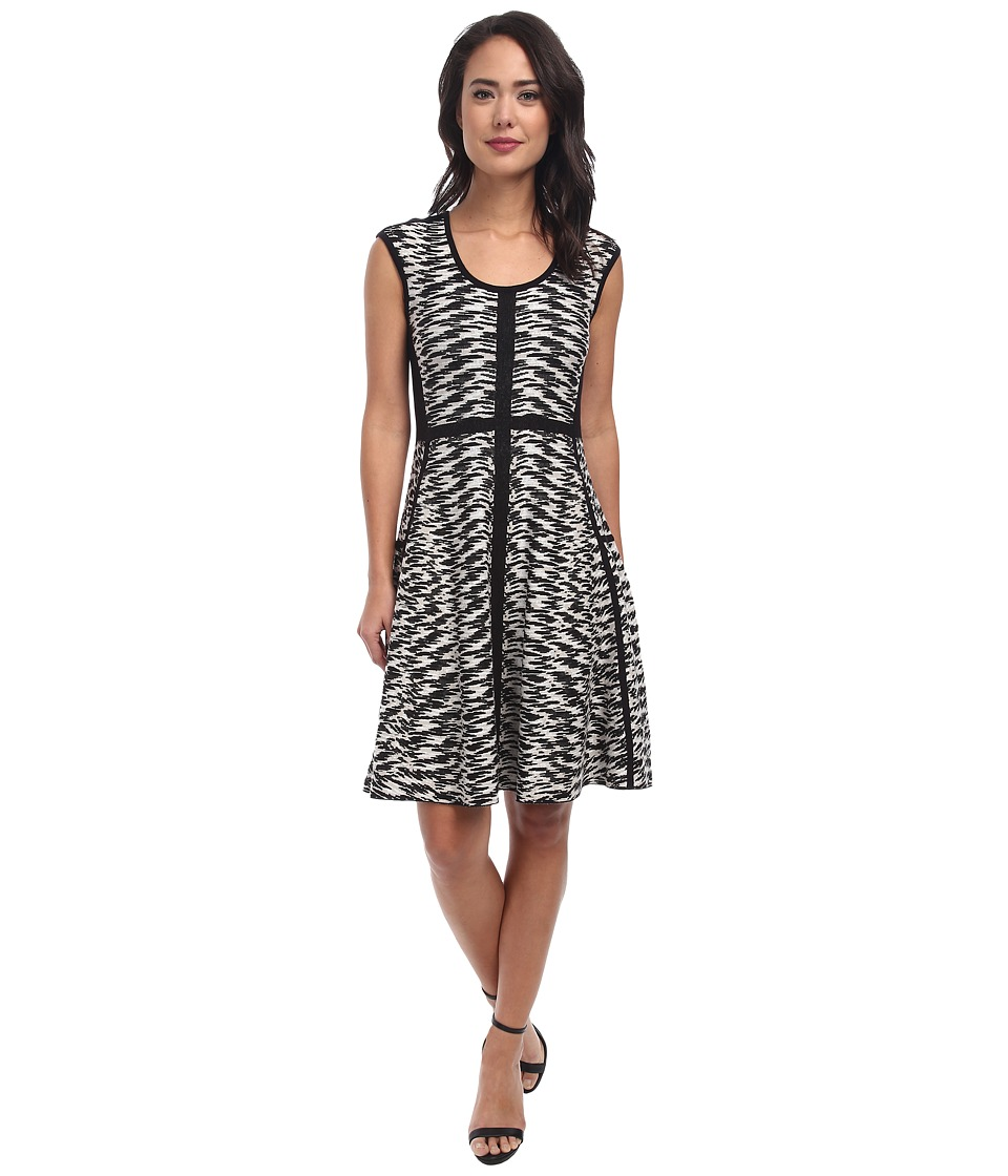NIC+ZOE Pebble Pieced Twirl Dress (Multi) Women