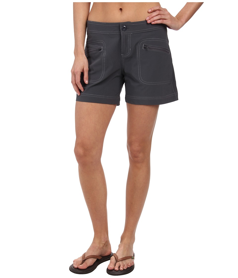 Prana - Lena Short (Coal) Women's Shorts
