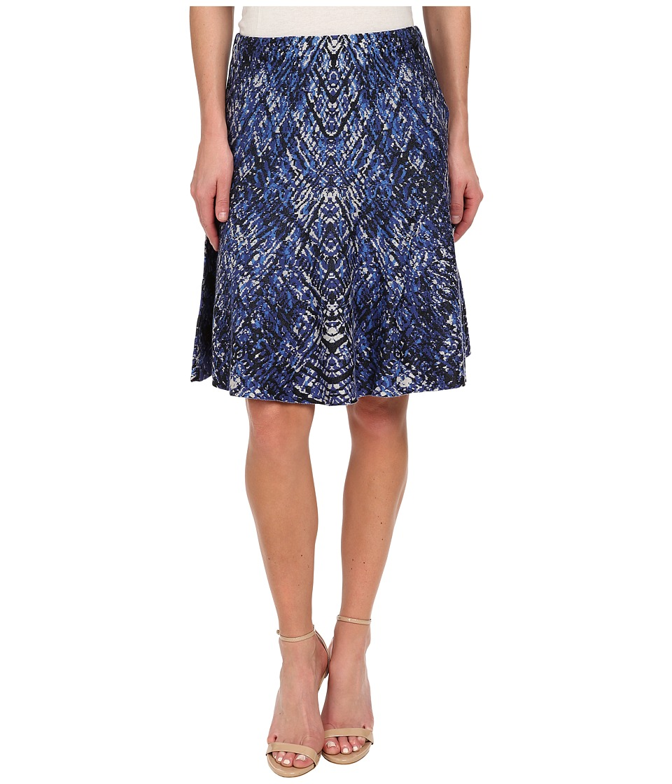 NIC+ZOE - Ink Splash Wink Skirt (Multi) Women's Skirt